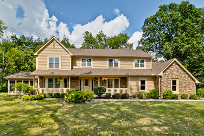 Libertyville Single Family Home For Sale: 1738 White Fence Lane