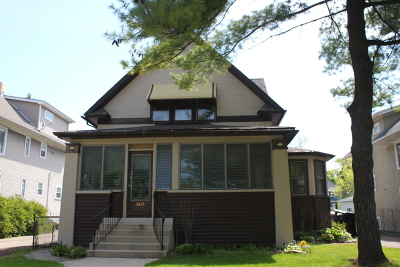 Mayfair Single Family Home For Sale: 4643 North Kenton Avenue
