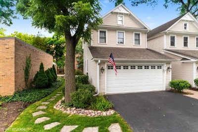 Libertyville Condo/Townhouse For Sale: 218 East Church Street