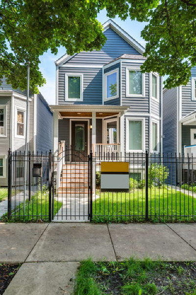 Single Family Home For Sale: 3434 West Melrose Street