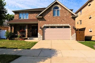 Chicago Ridge Single Family Home For Sale: 6237 Birmingham Street