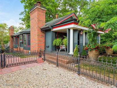 Kane County Single Family Home Price Change: 130 North Bennett Street