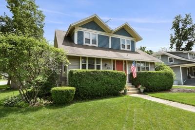 Wheaton Single Family Home For Sale: 819 North Main Street