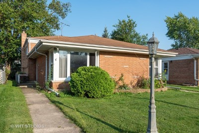 Skokie Single Family Home For Sale: 9521 Lawler Avenue