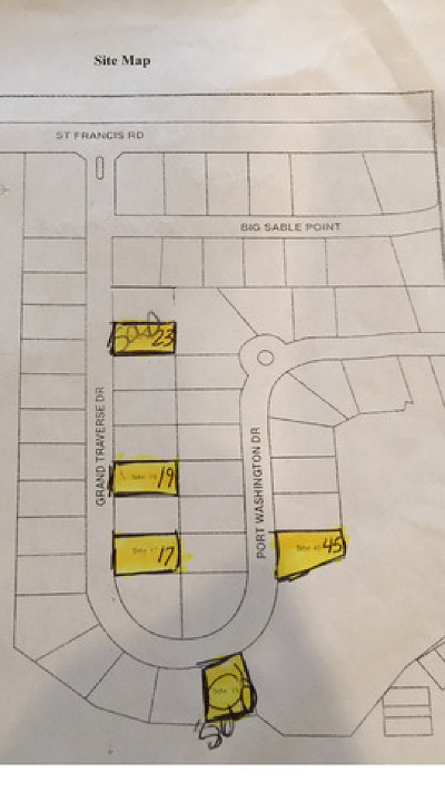 Frankfort Residential Lots & Land For Sale: 20485 Grand Traverse Drive