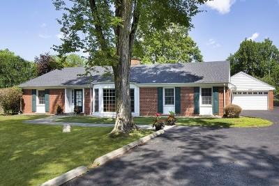 Winnetka Single Family Home For Sale: 1215 Hill Road