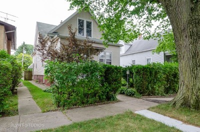 Evanston Single Family Home For Sale: 1583 Dewey Avenue