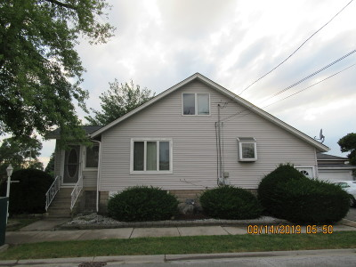 South Holland Single Family Home For Sale: 246 East 161st Place