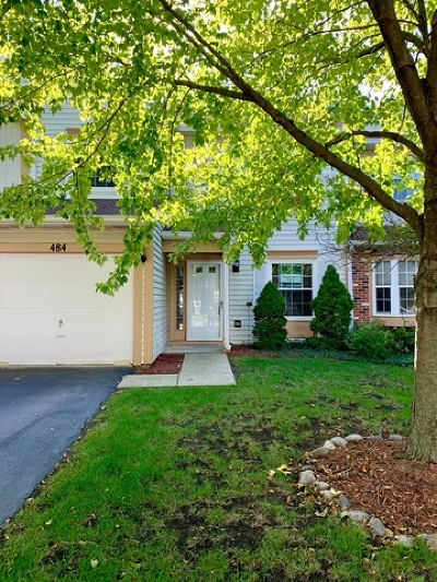 Streamwood Condo/Townhouse For Sale: 484 Ascot Lane