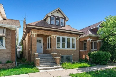 Portage Park Single Family Home For Sale: 5153 West Warwick Avenue