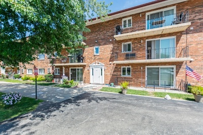 Hickory Hills Condo/Townhouse For Sale: 9420 Greenbriar Drive #3H