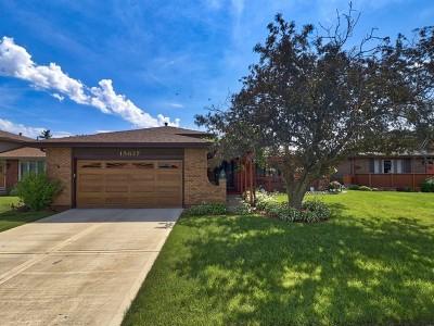 Oak Forest Single Family Home For Sale: 15637 Long Avenue