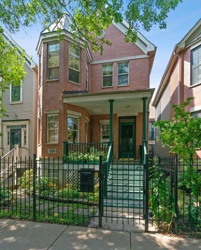 Single Family Home For Sale: 1524 North North Park Avenue