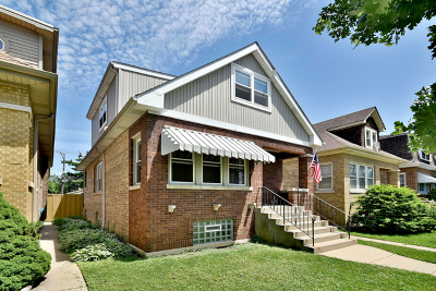 Jefferson Park Single Family Home For Sale: 4921 North Merrimac Avenue
