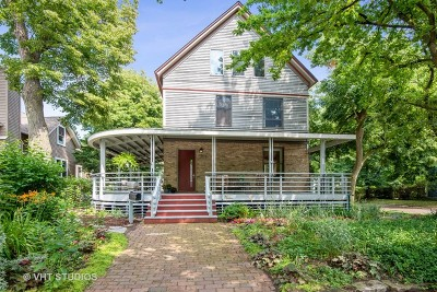 Evanston Single Family Home For Sale: 1003 Wesley Avenue