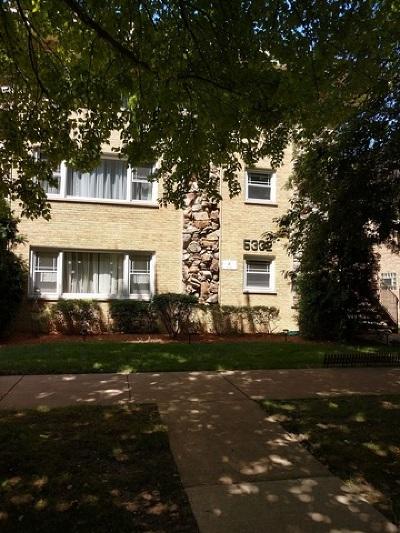 Portage Park Condo/Townhouse For Sale: 5332 West Windsor Avenue #1C