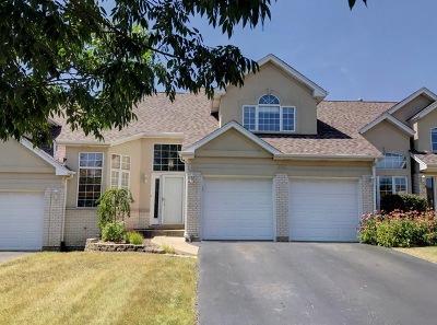 Romeoville Condo/Townhouse For Sale: 648 Aspen Drive