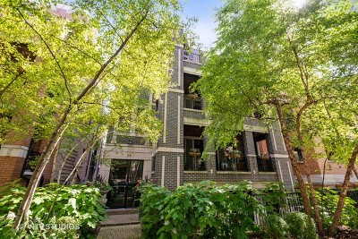Condo/Townhouse For Sale: 841 West Bradley Place #3R