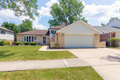 Downers Grove Single Family Home For Sale: 7201 Kidwell Road