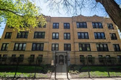 Condo/Townhouse For Sale: 1849 West Lunt Avenue #2D