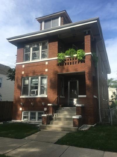 Belmont Cragin Multi Family Home For Sale: 2446 North Lorel Avenue North