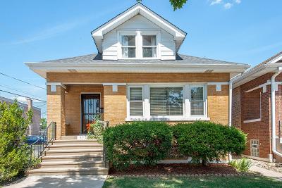 Portage Park Single Family Home For Sale: 5542 West Dakin Street