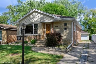 Wilmette Single Family Home For Sale: 604 Lavergne Avenue