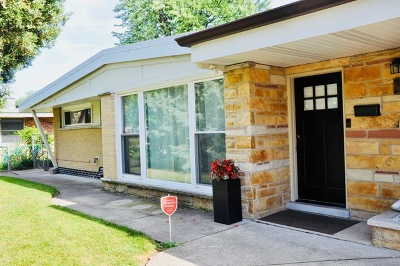 Single Family Home For Sale: 7961 West Argyle Street