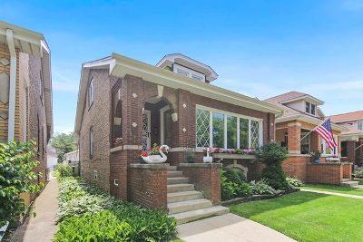 Jefferson Park Single Family Home For Sale: 5239 North Ludlam Avenue