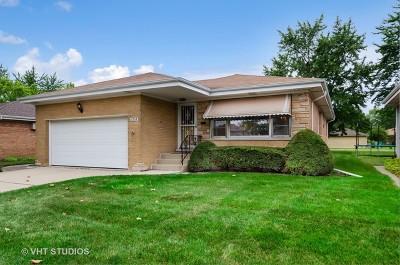 Morton Grove Single Family Home Contingent: 8904 Ottawa Avenue