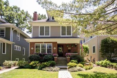 Wilmette Single Family Home For Sale: 1417 Maple Avenue