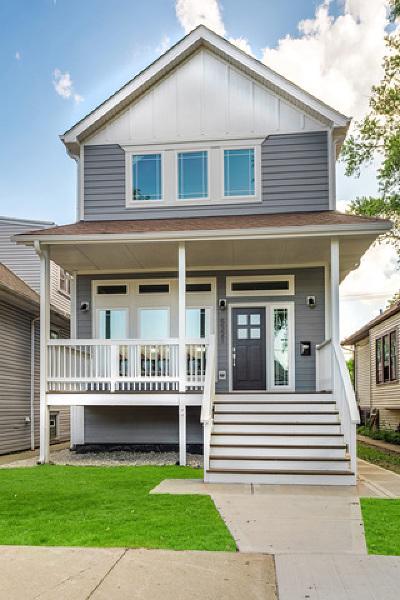 Portage Park Single Family Home New: 5321 West Grace Street