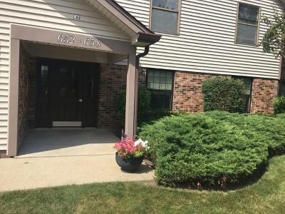 Buffalo Grove Condo/Townhouse For Sale: 656 Hapsfield Lane #3D1