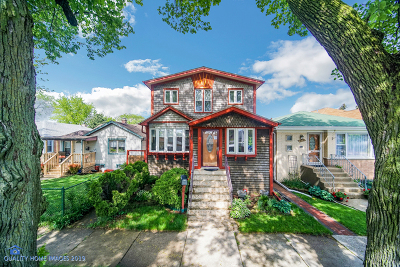 Single Family Home For Sale: 4324 North Rutherford Avenue