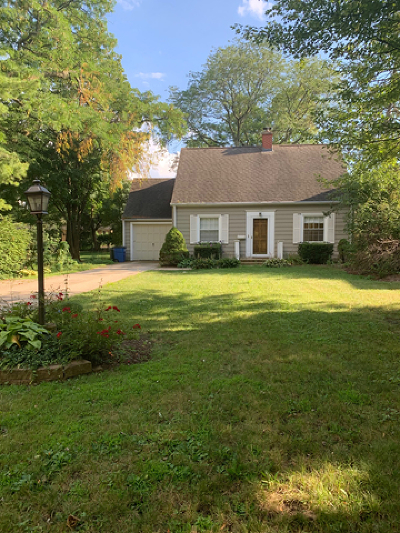 Downers Grove Single Family Home For Sale: 1521 Thornwood Drive