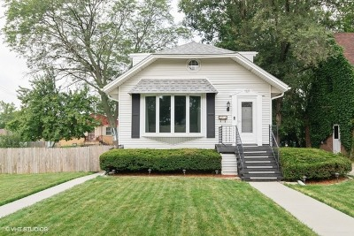 Single Family Home Price Change: 2018 North Newland Avenue