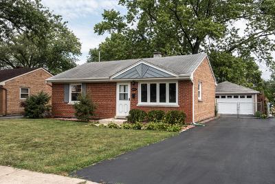 Chicago Ridge Single Family Home New: 6052 Washington Street