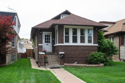 Portage Park Single Family Home Price Change: 4446 North Parkside Avenue North