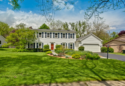 Libertyville Single Family Home For Sale: 334 East Winchester Road