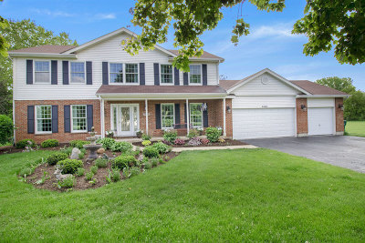 Huntley Single Family Home For Sale: 11902 Heron Drive