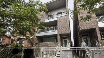Chicago, Aurora, Elgin, Hammond, Joliet, Kenosha, Michigan City, Naperville Condo/Townhouse New: 1536 West Walton Street #3