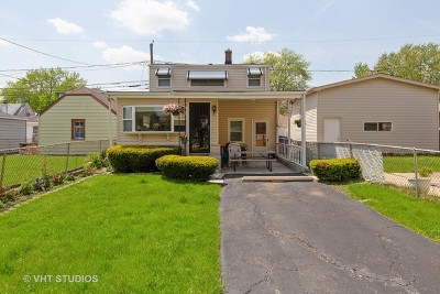Single Family Home For Sale: 4548 North Newland Avenue