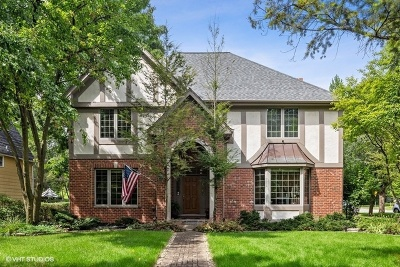 Hinsdale Single Family Home New: 628 North York Road