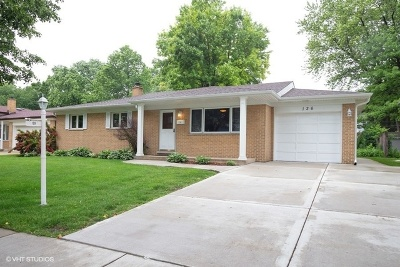 Arlington Heights Single Family Home New: 126 South Dwyer Avenue