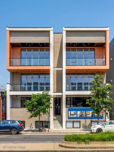 Condo/Townhouse For Sale: 2444 West Irving Park Road #3E