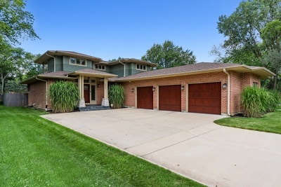 Downers Grove Single Family Home For Sale: 6000 Pershing Avenue