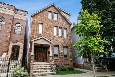 Roscoe Village Single Family Home New: 3417 North Oakley Avenue