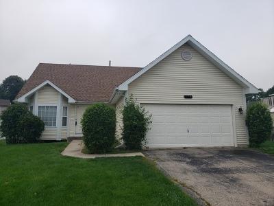 Joliet, Shorewood Rental For Rent: 3818 Hennepin Drive