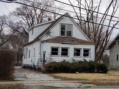 South Holland Single Family Home New: 15945 South Park Avenue
