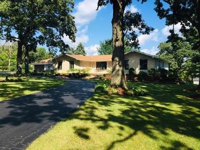 Bartlett Single Family Home New: 7n311 Sayer Road